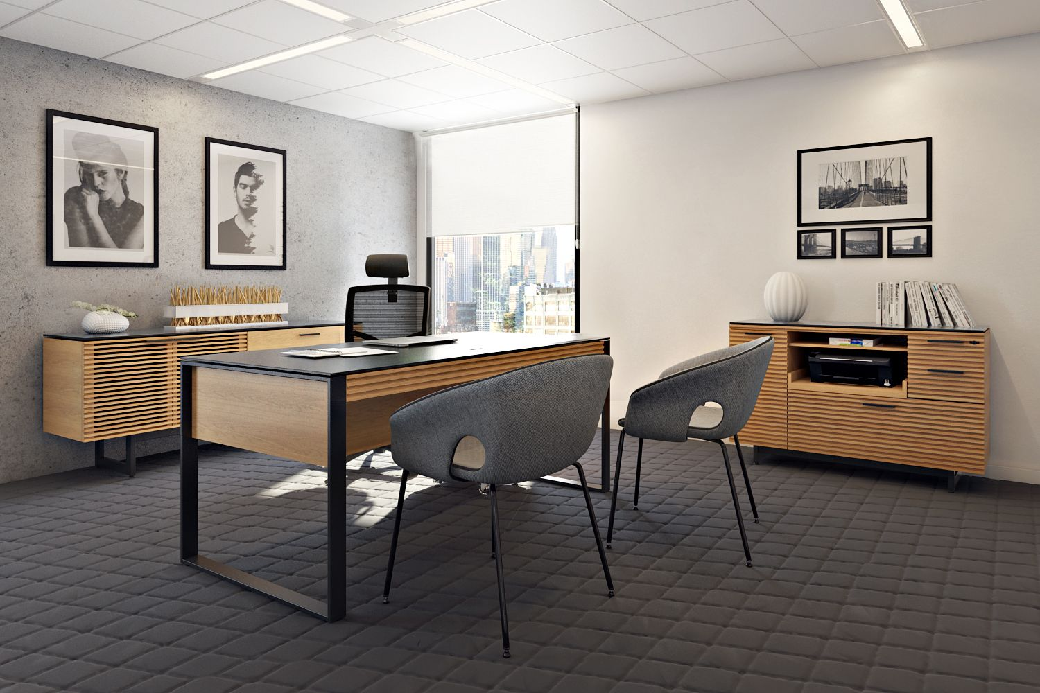 Photorealistic Office Furniture Visualization for BDI Online Marketing Tools