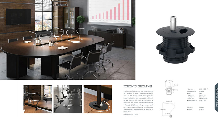 Catalog Spread with Product 3D Renderings from Portfolio
