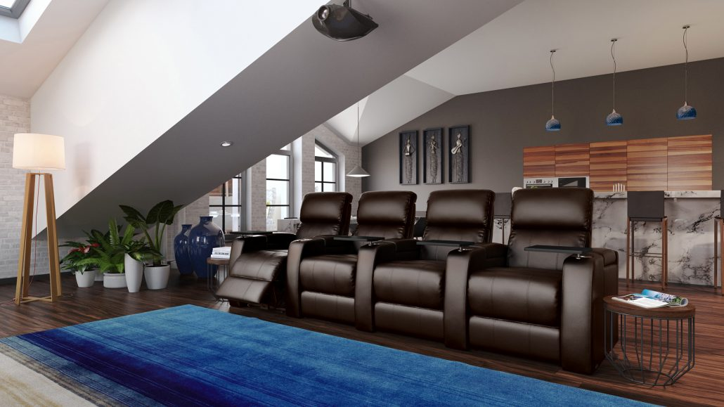 Sofa Product Rendering in a Living Room Interior
