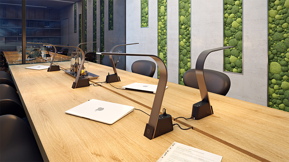 Table Lights Design 3D Visualization for a Product Portfolio