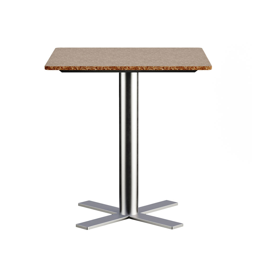 One-leg Table 3D Model for Renewed Materials Product Page
