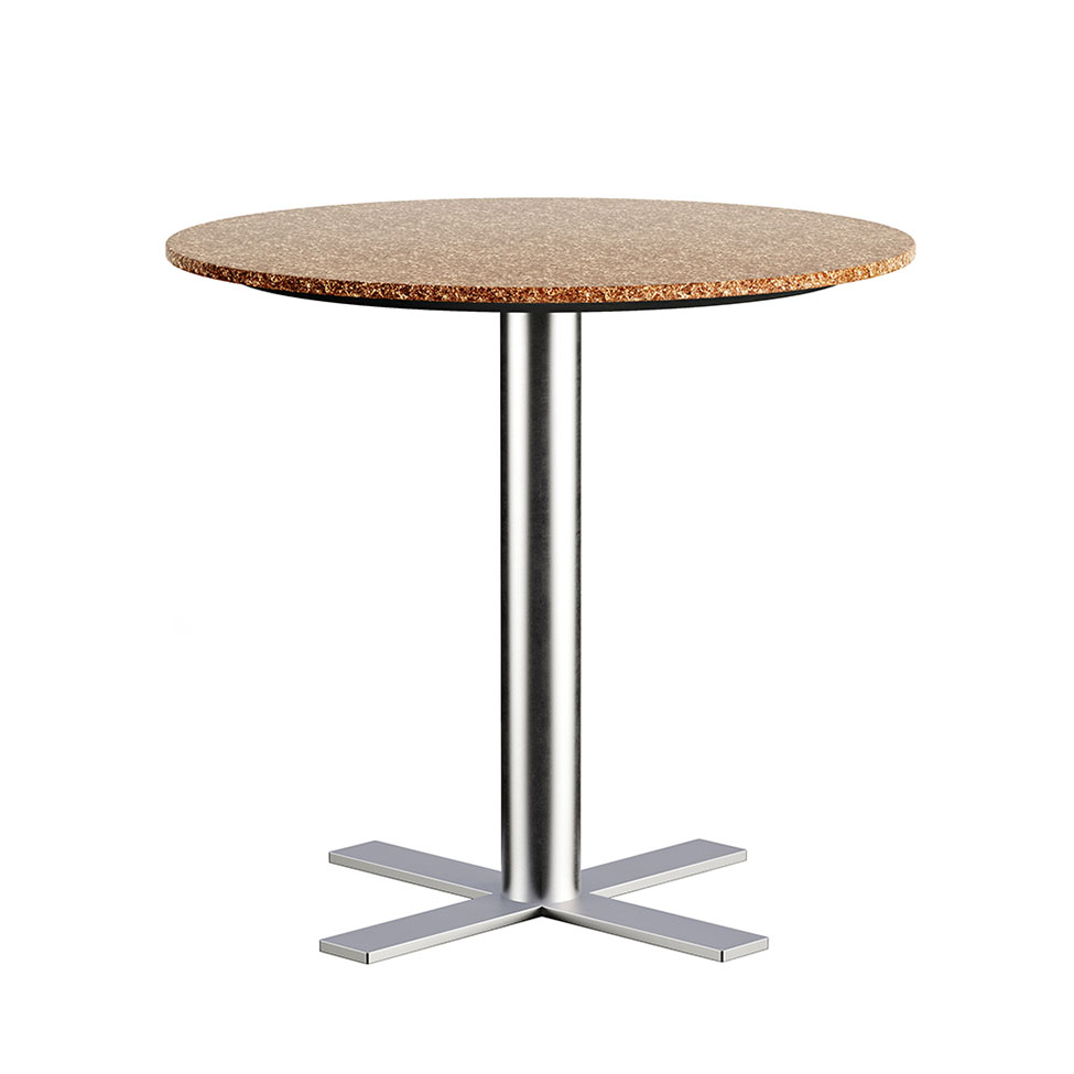 3D Model of a Brown-Top Table for a Product Page