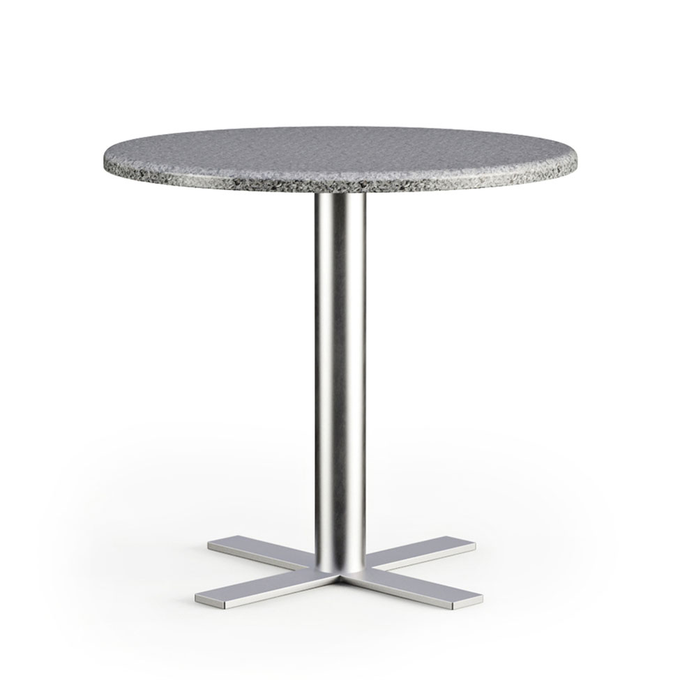 One-leg Table 3D Model for Product Page