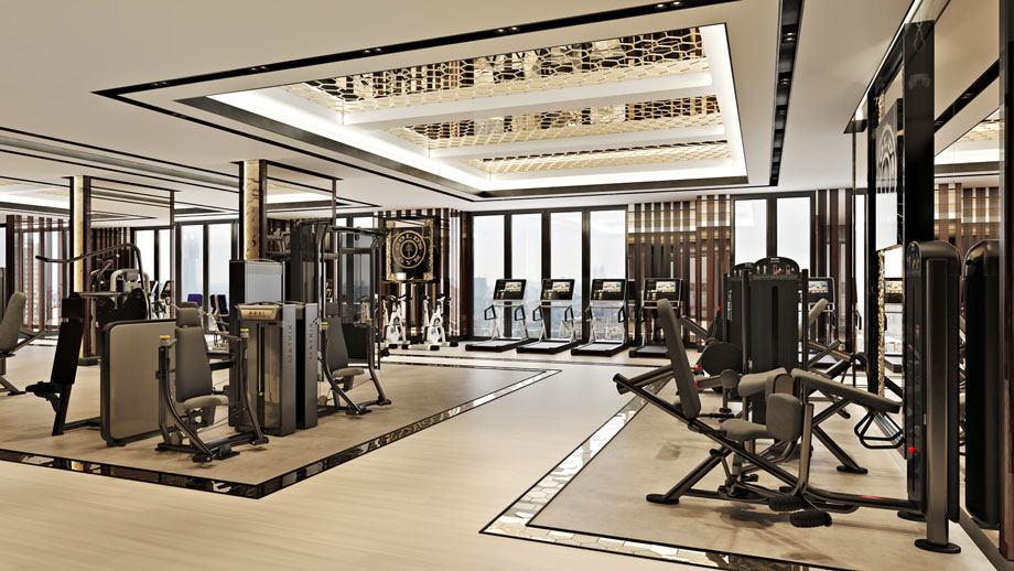 Photorealistic 3D Visualization for a Gym Design