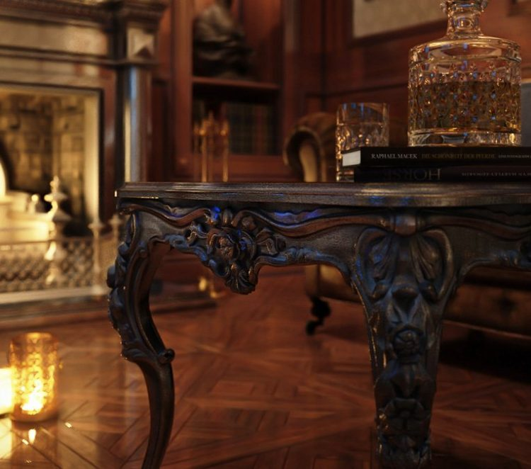 3D Photo to Depict a Beautiful Table Design in a Lifestyle