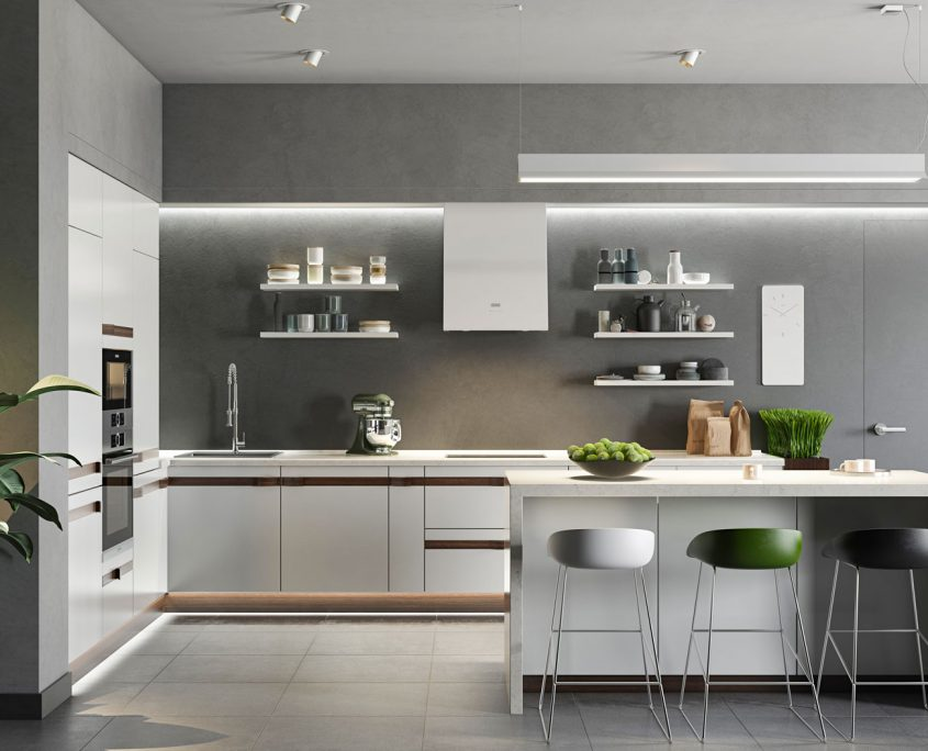 Realistic Product CGI for a Kitchen Set