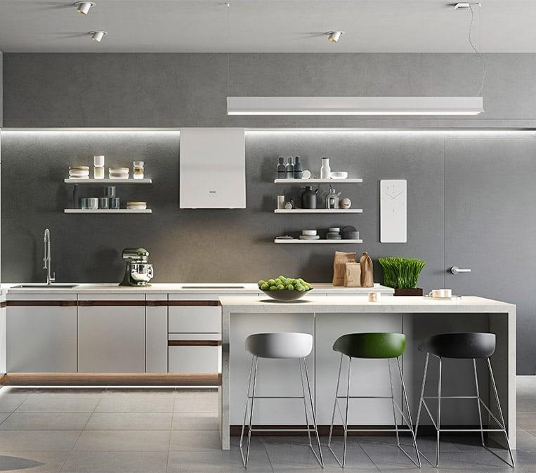 Kitchen Rendering for Online Marketing