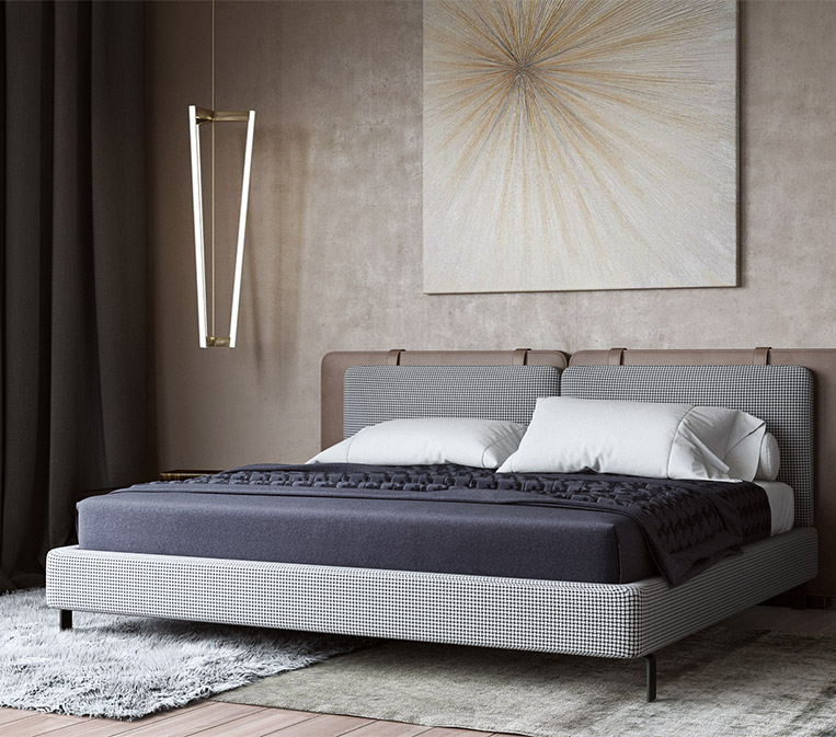 Photorealistic Rendering Lifestyle for a Bed