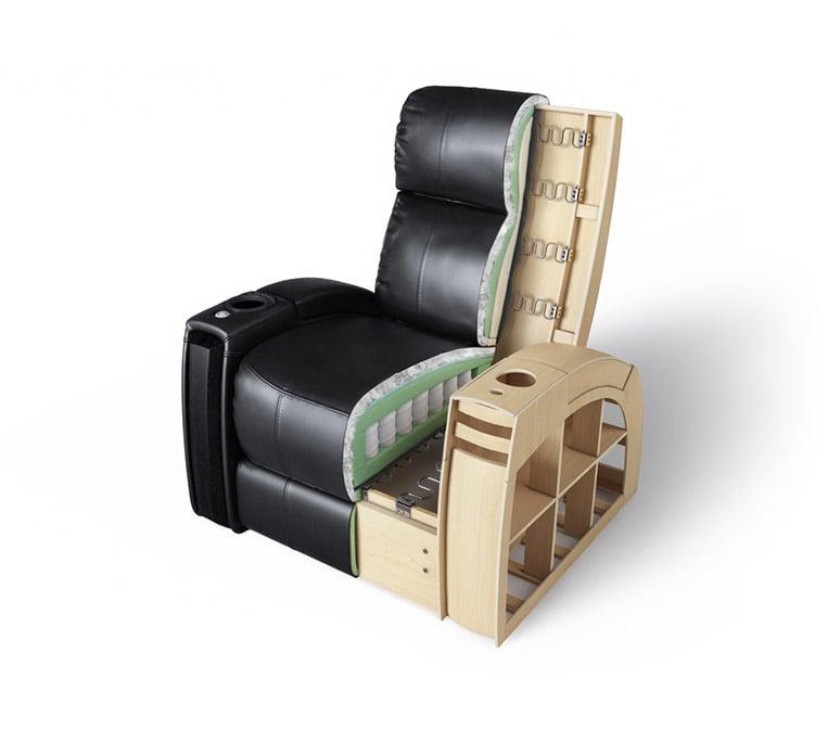 A Cut-Out Shot for an Armchair 3D Model