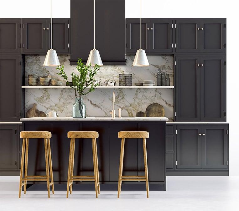 Kitchen CGI for Furnitre Print Advertisiment