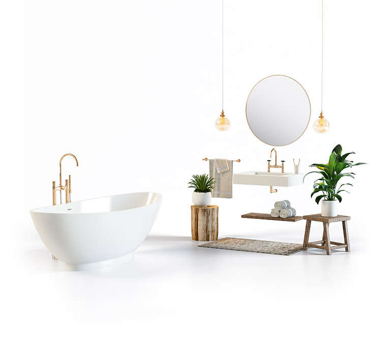 3D Rendering for a Bath Catalog