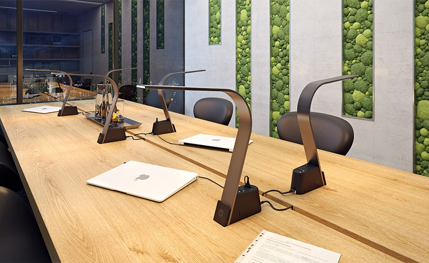 Product CGI for Desk Lamps