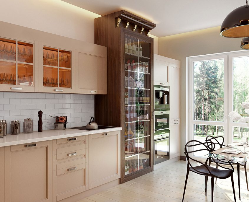Product CGI for Kitchen Furniture