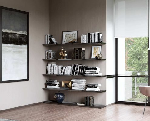 Home Office CG Scene for Furniture Ads