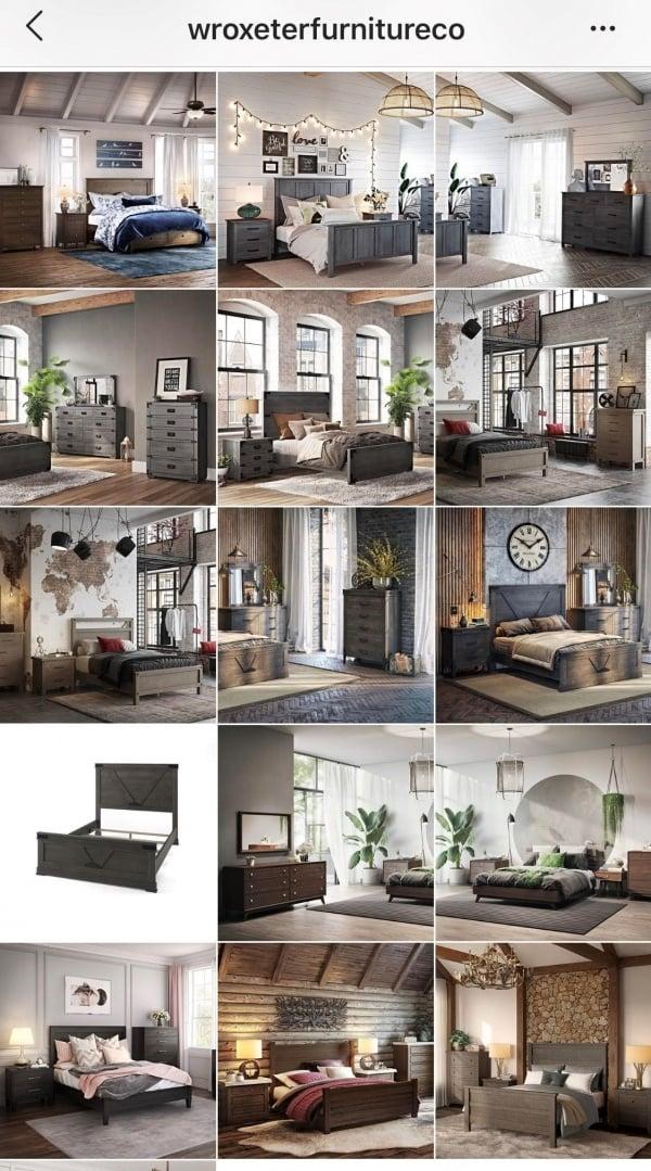 3D Renderings in Furniture Retailer Product Gallery