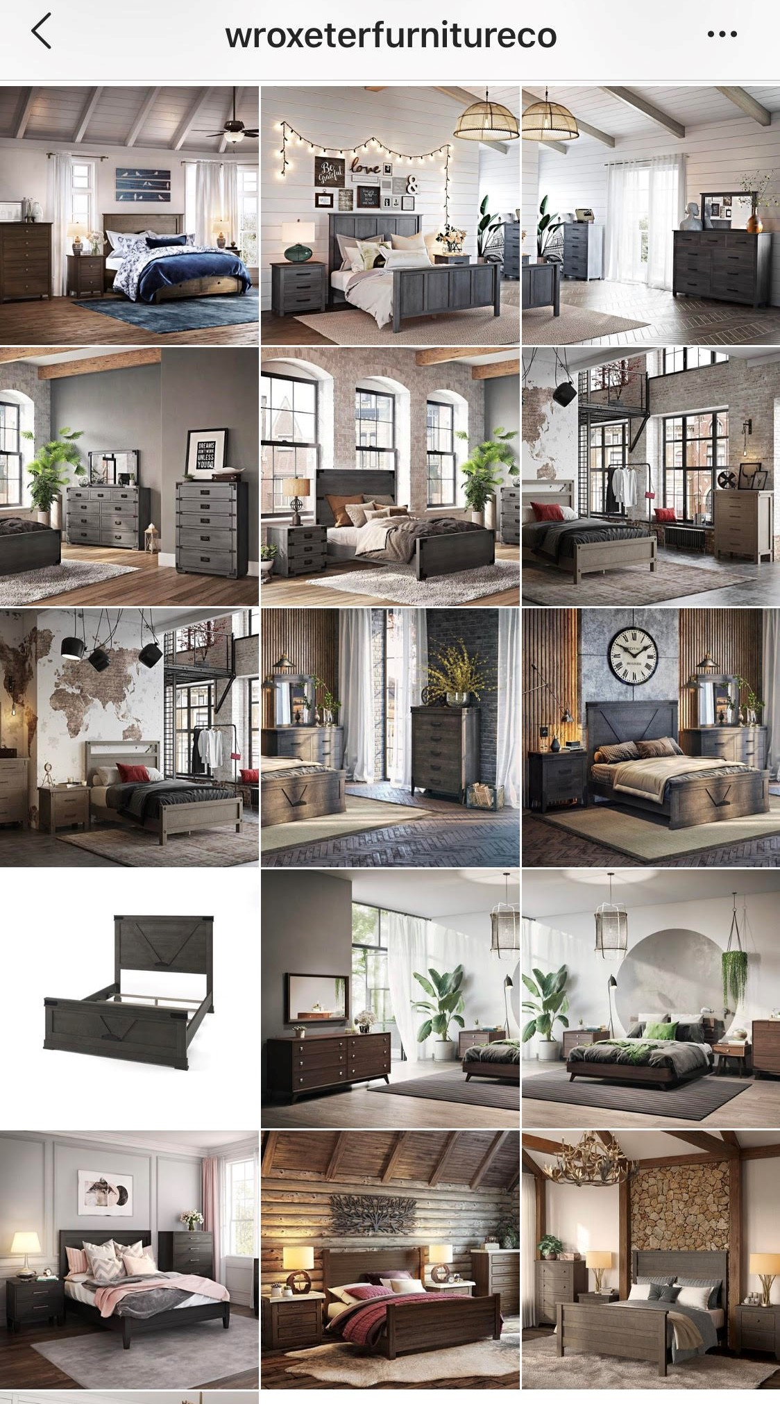 3D Renderings in Furniture Retailer Product Gallery