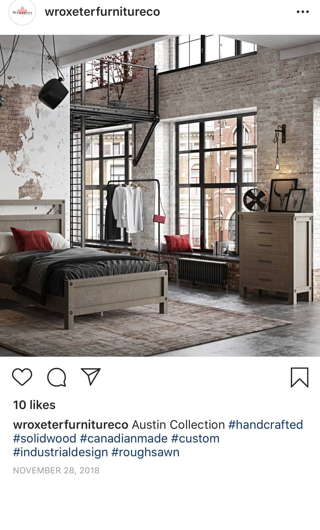 Facebook Ad for Lifestyle Bedroom Furniture