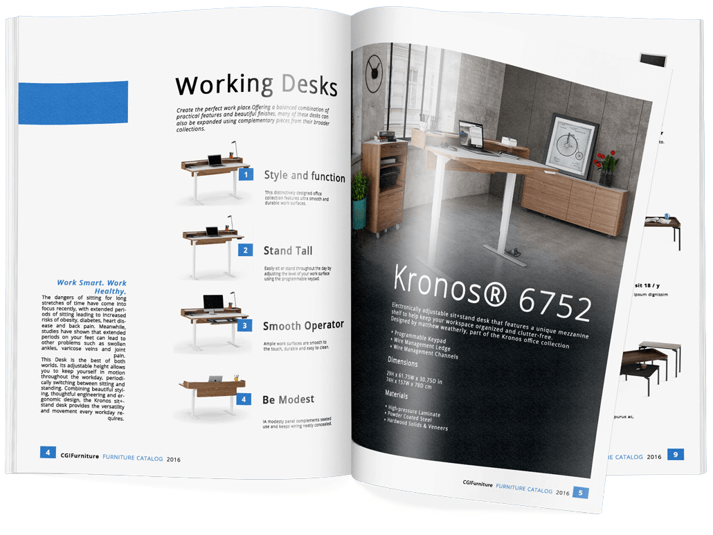 Furniture Marketing Catalogue as an Effective Collateral Item