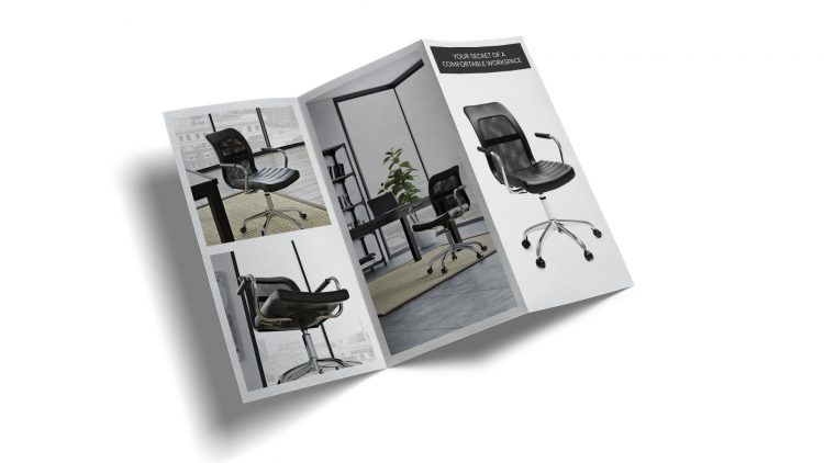 Brochure Design for Furniture Sales