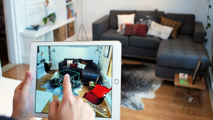 AR Technology Trend for Selling Furniture Online
