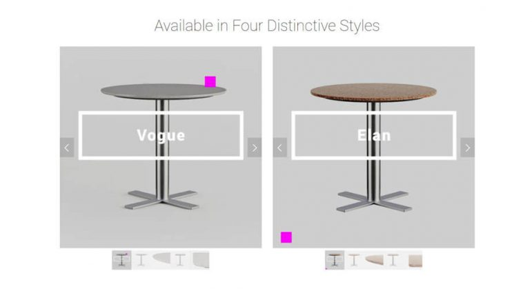 Customization Ecommerce Trend for Selling Tables Online