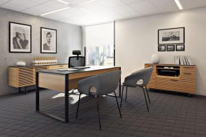 Office Furniture Lifestyle 3D Visualization