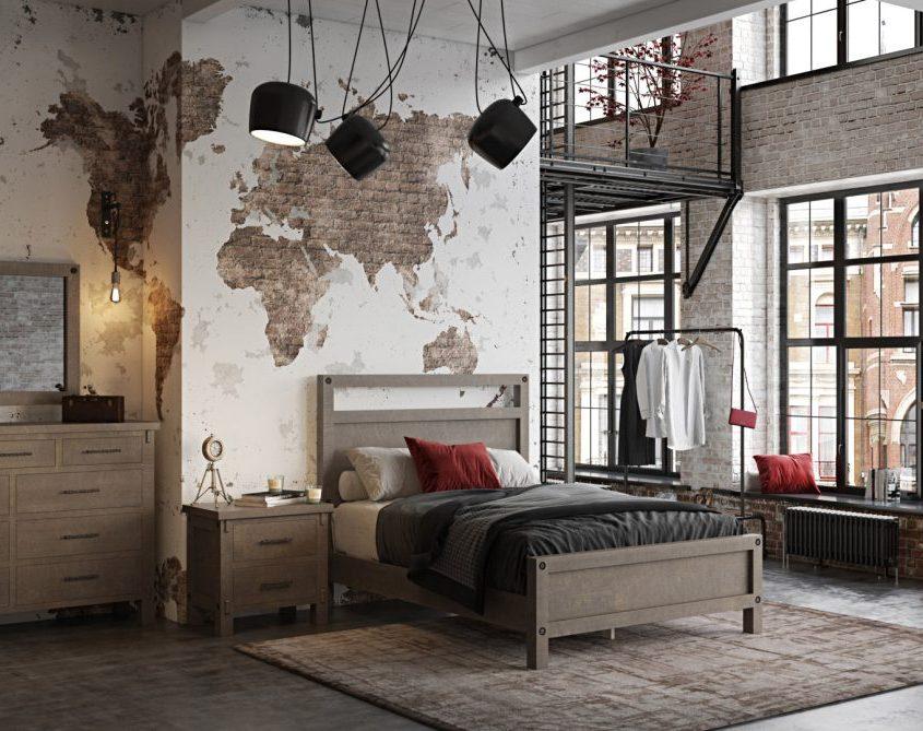3D Furniture Lifestyle: Bedroom Scene