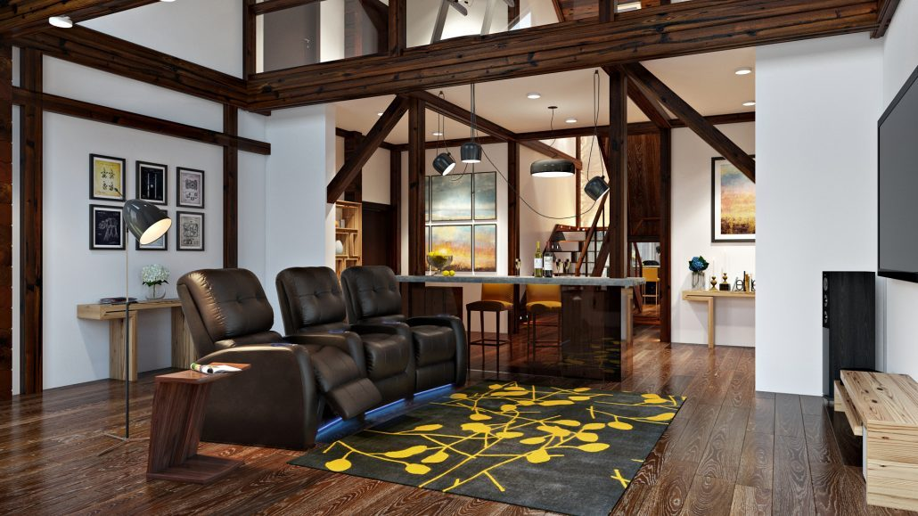 Photorealistic CG Images of Interior Design