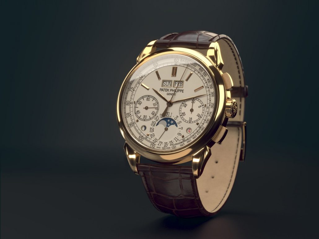 Watch 3D Modelling for Product Images