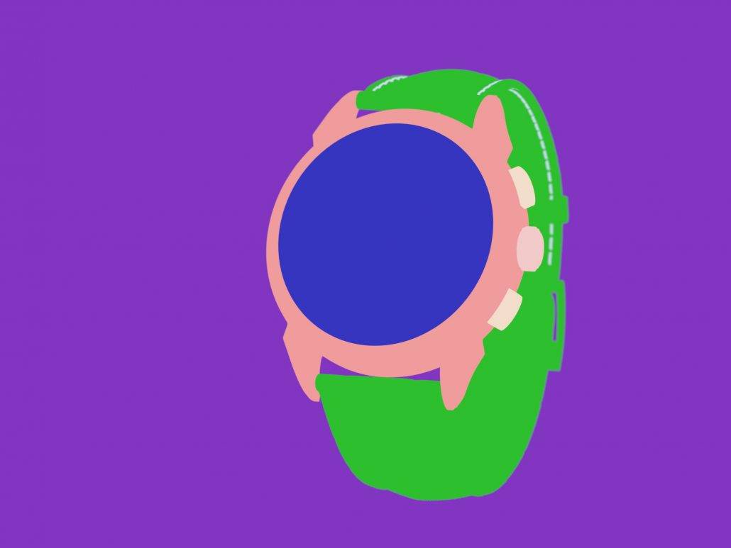3D Rendering for a Watch 3D Product Design Project