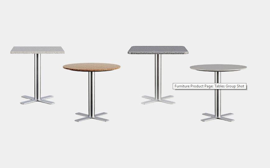 Different Materials for Table a 3D Model