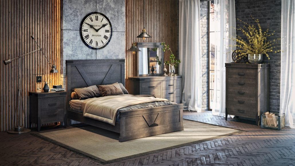 Bed 3D Modelling for Lifestyle Images