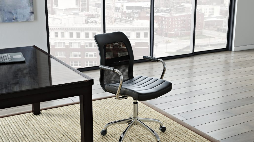 Photorealistic 3D Rendering for an Office Chair