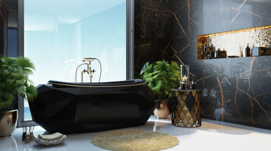 Photorealistic Lifestyle Image for a Luxurious Bathroom