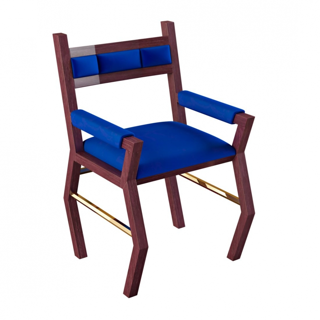 Photoreal 3D Visualisation for an Elegant Hand-Made Chair