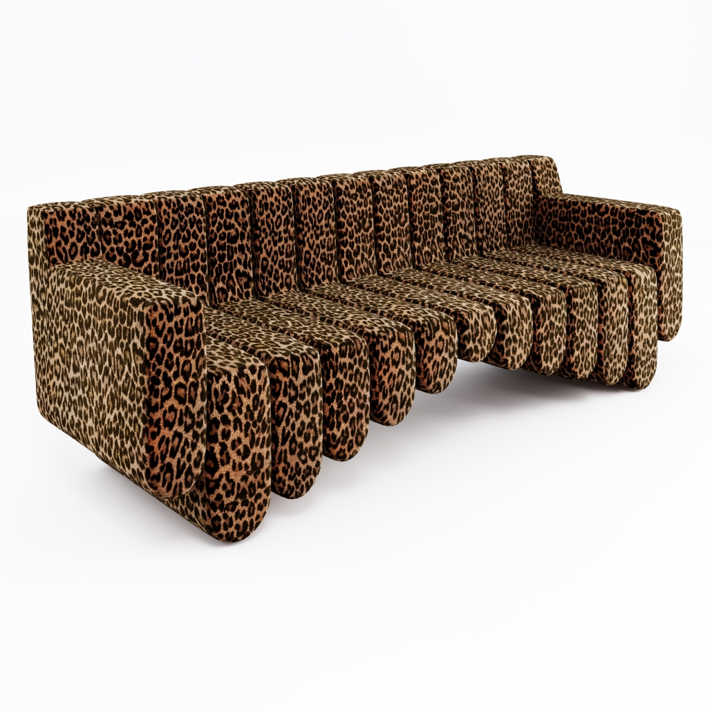 3D Product Rendering for a Sound Sofa Design