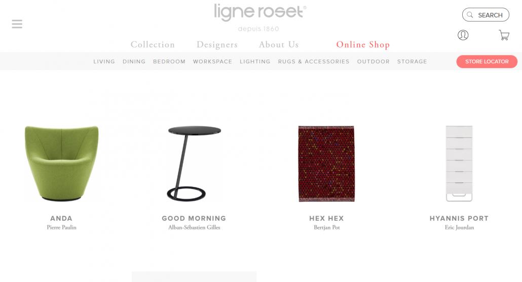Online Furniture Store Ligne Roset