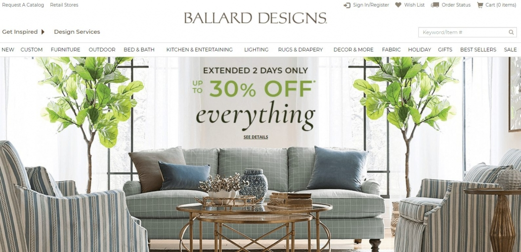 Furntiure Website Ballard Designs