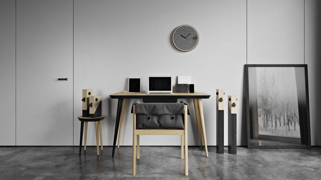 A Lifestyle Group Shot for Working Place Furniture
