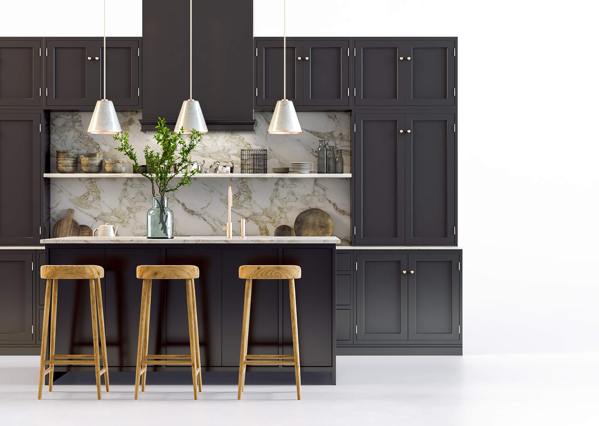 Product CGI of Kitchen Furnishings Created without Photography