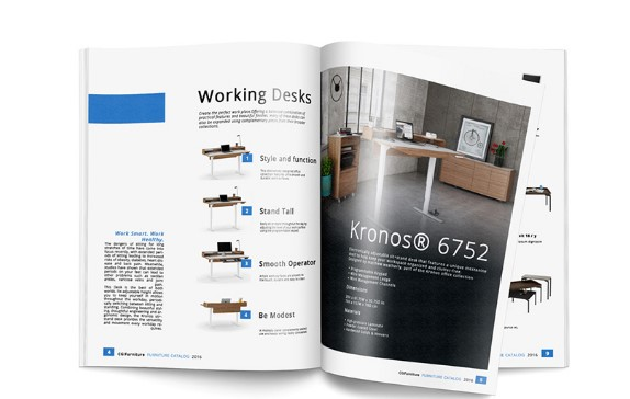 Product 3D Visualization for Catalogs and Magazines