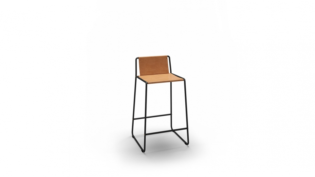 3D Visualization for a Chair on the White Background