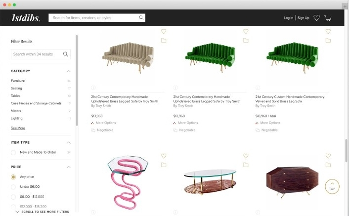 A Popular Online Furniture Store