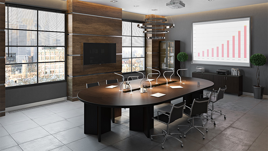 High-Quality 3D Rendering for an Conference Room