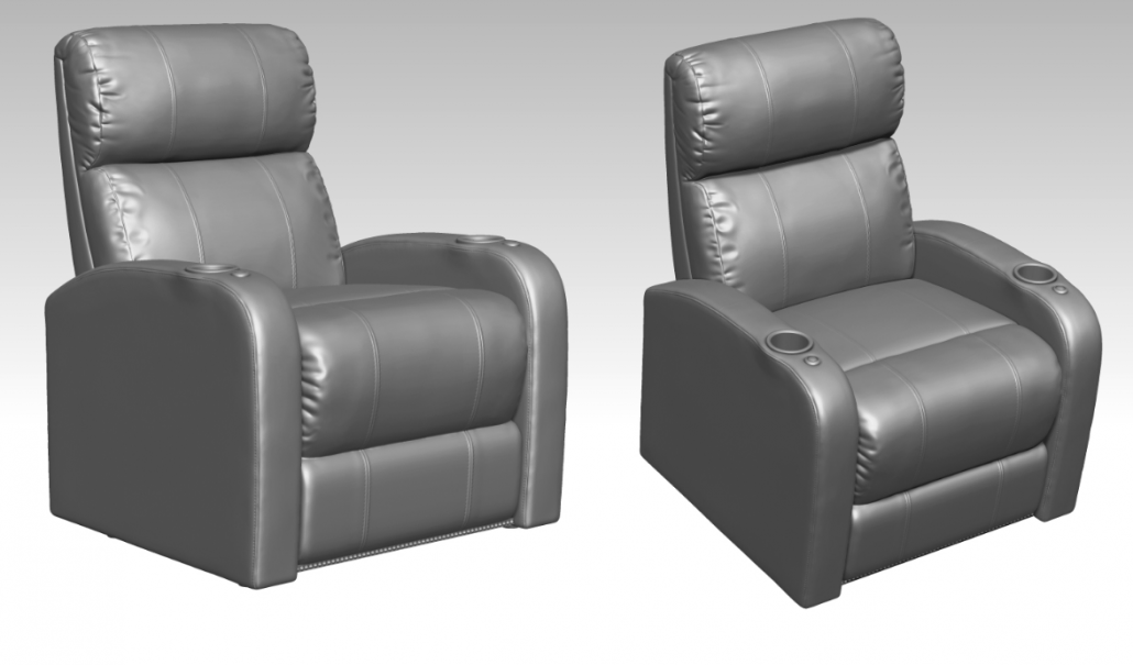 Photoreal 3D Modeling for a Armchair Design