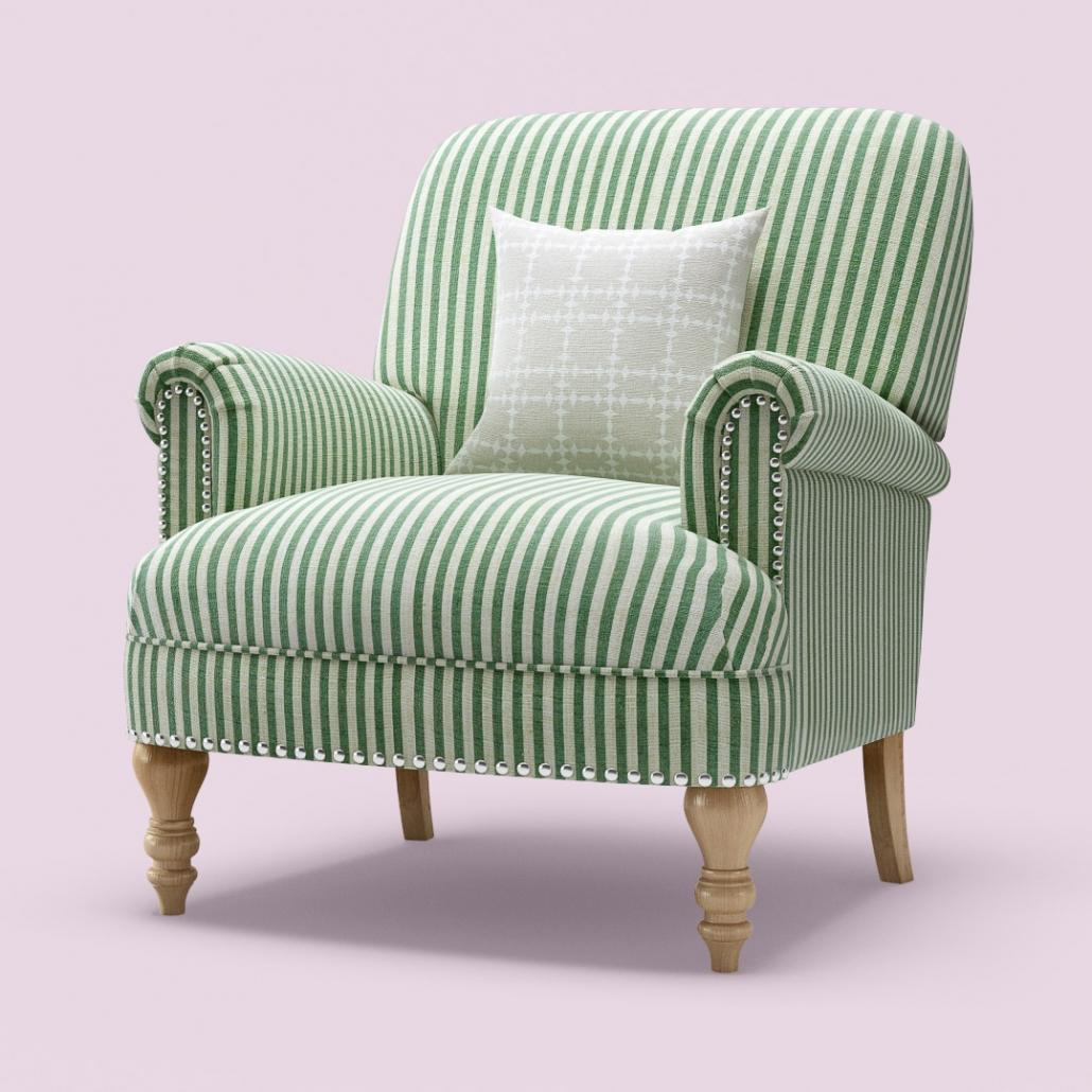High-Resolution Texturing an Armchair 3D Model
