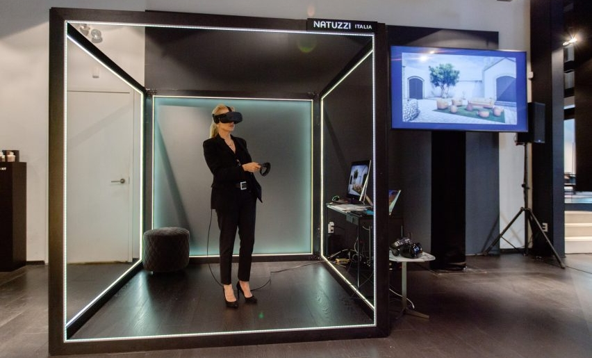 VR Experience in a Furniture Shop