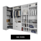 Custom Wardrobe 3D Rendering