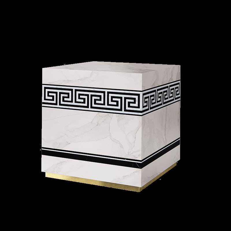 Apollo Side Table Design 3D Rendering