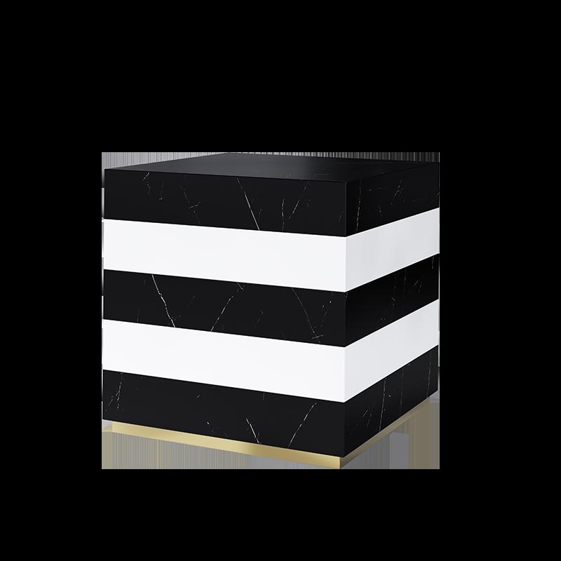 Bonaparte Side Table Design 3D Rendering